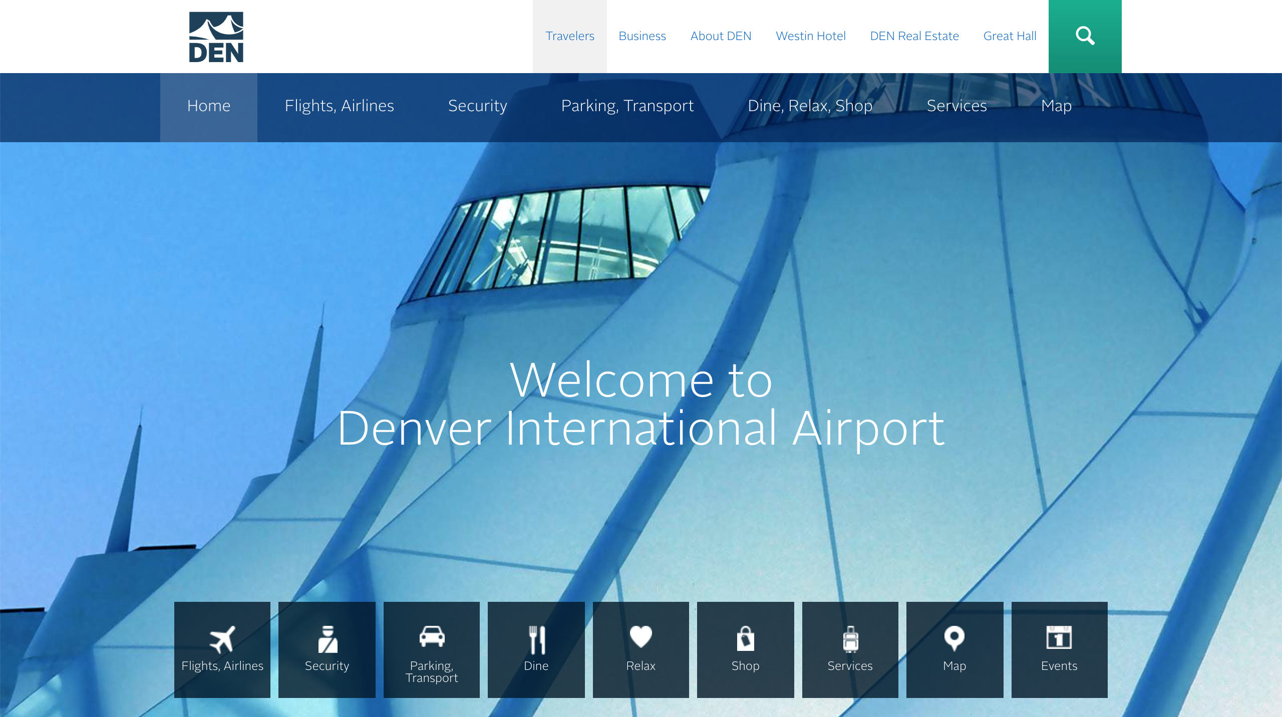 Denver International Airport Website
